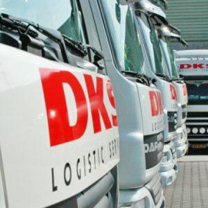 DKS transportbedrijf in Apeldoorn